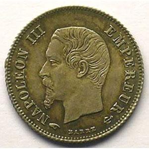 1860 A  (Paris)    SUP/FDC
