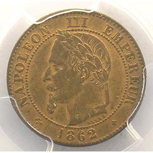 1862 grand BB  (Strasbourg)    PCGS-MS64RB    pr.FDC