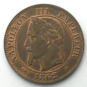 1862 grand BB  (Strasbourg)    SUP/FDC