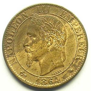1864 A  (Paris)    SUP/FDC