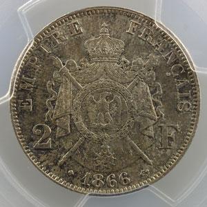 1866 BB  (Strasbourg)    PCGS-MS65    FDC