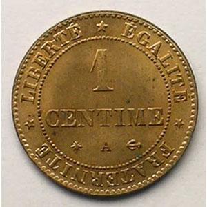 1872 A  (Paris)    FDC