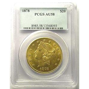 1878    PCGS-AU58   SUP