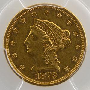 1878 S  San Francisco    PCGS-AU58    SUP