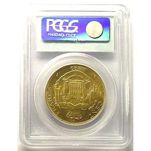 1882 A  (Paris)    PCGS-MS64    pr.FDC