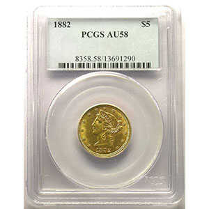 1882   PCGS-AU58    SUP