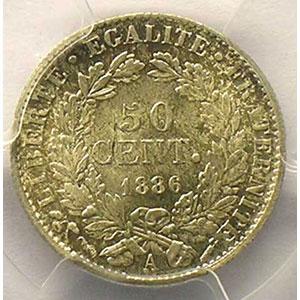 1886 A  (Paris)    PCGS-MS64    pr.FDC