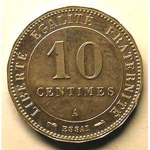 1887 A   flan à 18 pans    FDC