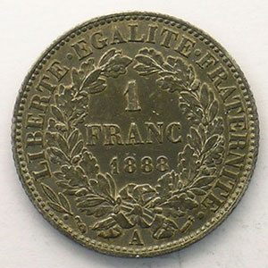 1888 A  (Paris)    TTB+
