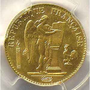 1893 A  (Paris)    PCGS-MS64    pr.FDC