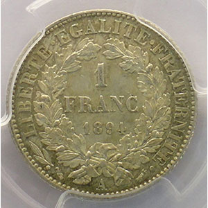 1894 A  (Paris)    PCGS-MS62    SUP/FDC