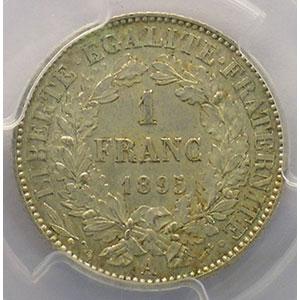 1895 A  (Paris)    PCGS-MS61    SUP/FDC
