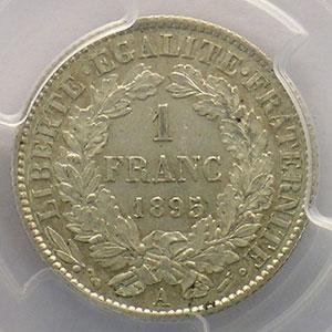 1895 A  (Paris)    PCGS-MS62    SUP/FDC