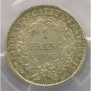 1895 A  (Paris)    PCGS-MS63    SUP/FDC