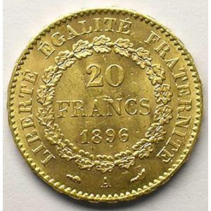 1896 A torche  (Paris)    TTB+/SUP
