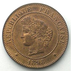 1898 A  (Paris)    SUP/FDC