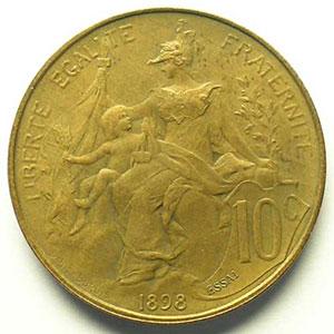 1898 ESSAI en relief   flan mat    SUP/FDC