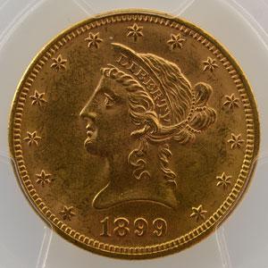 1899    PCGS-MS63    SUP/FDC