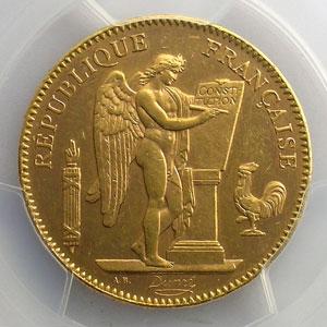 1904 A  (Paris)    PCGS-MS62    SUP/FDC