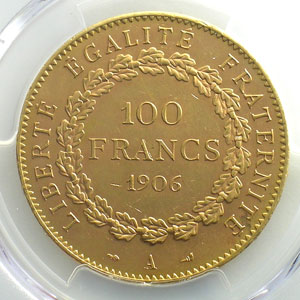 1906 A  (Paris)    PCGS-MS63    SUP/FDC