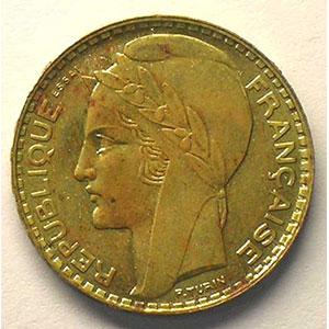 1929 Essai en bronze-alu    SUP
