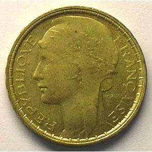 1929 Essai en bronze-alu    TTB+/SUP