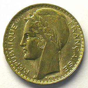 1929 Essai en bronze-alu    TTB+