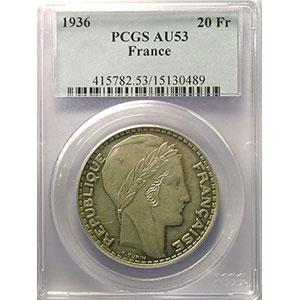 1936   PCGS-AU53    TTB+