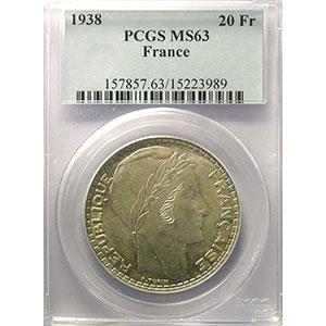1938   PCGS-MS63    pr.FDC