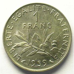 1959 Essai    FDC