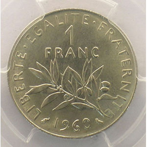 1960   grand 0    PCGS-MS64    pr.FDC