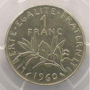 1960   petit 0    PCGS-MS63    pr.FDC