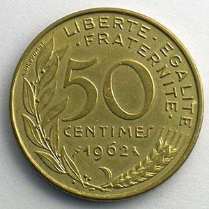 1962   col à 4 plis    TTB+