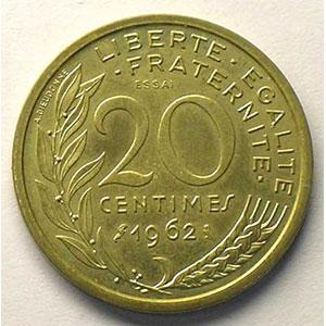 1962 Essai    SUP/FDC