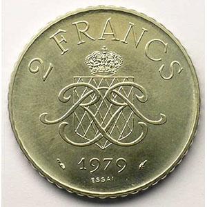 1979 Essai en nickel    SUP/FDC