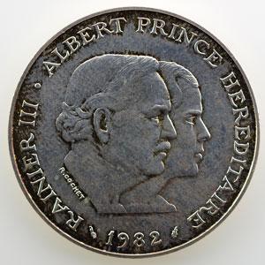 1982 Essai en argent    SUP/FDC