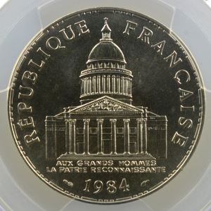 1984    PCGS-MS68    FDC exceptionnel
