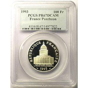 1993    PCGS-PR67    BE
