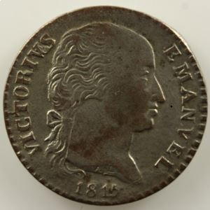 2,6 Soldi   Victor-Emmanuel I (1802-1821)   1815  (Turin/Torino)    TTB+/SUP