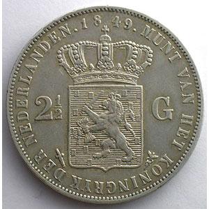 2 1/2 Gulden   1849    TTB