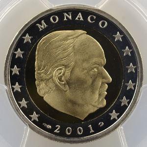 2 Euro   2001    PR67DCAM    BE