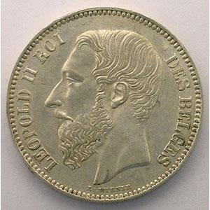 2 Francs   1867 A    TTB+