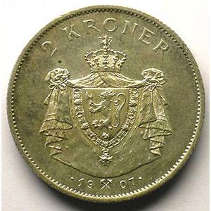 2 Kroner   1907    TTB+