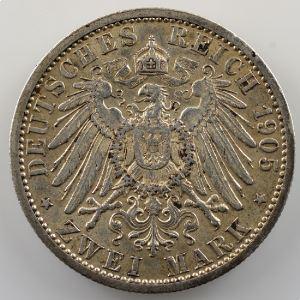 2 Mark   1905  (1880-1905)    TTB+