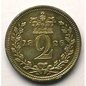 2 Pence   1826    TTB+/SUP
