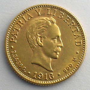 2 Pesos   1916    SUP