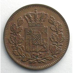 2 Pfennig   1870    SUP