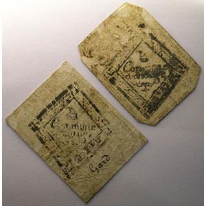 2 Sous et 3 Sous   28 avril 1792    TTB