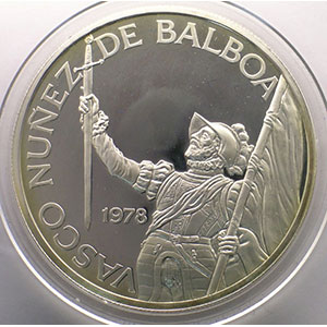 20 Balboas   Vasco Nunez de Balboa   1978    BE