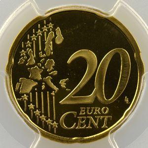20 Cent   2001    PR68DCAM    BE